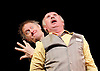 Marcel<br /> Theatre des Bouffes du Nord <br /> by and with Jos Houben and Marcello Magni <br /> at The Shaw Theatre, London, Great Britain <br /> Press photocall <br /> 9th January 2016 <br /> <br /> London International Mime Festival <br /> <br /> Jos Houben and Merceelo Magni <br /> <br /> <br /> <br /> Photograph by Elliott Franks <br /> Image licensed to Elliott Franks Photography Services