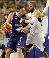 ESPAÑA vs USA baloncesto en Madrid