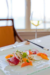 The Kahala Resort and Hotel, located in Honolulu on the souths side of Diamond Head, offers luxurious accommodations and is the only hotel in Oahu with a dolphin program. The Hearts of Palm Salad offered at Hoku's restaurant.