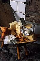 "Europe/Pologne/Varsovie: Fromages polonais au restaurant ""Gessler"""