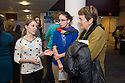 Public Health Poster Session. Class of 2015. Jenna Ford, from left, Dijana Poljak, Wendy Davis, M.D.