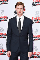Luke Newberry at the Empire Film Awards 2017 at The Roundhouse, Camden, London, UK. <br /> 19 March  2017<br /> Picture: Steve Vas/Featureflash/SilverHub 0208 004 5359 sales@silverhubmedia.com