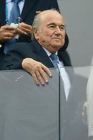 Sepp Blatter the President of FIFA
