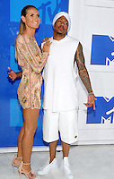 NEW YORK, NY - AUGUST 28 :Nick Cannon attend the 2016 MTV Video Music Awards at Madison Square Garden on August 28, 2016 in New York City Credit John Palmer / MediaPunch