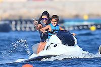 Kourtney Kardashian & family enjoying vacation time in Antibes - France