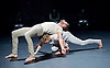 Alexander Whitley Dance Company's<br /> Pattern Reconition<br /> at The Platform Theatre, Kings Cross, London, Great Britain <br /> 7th April 2016 <br /> <br /> Alexander Whitley <br /> Natalie Allen <br /> <br /> <br /> Photograph by Elliott Franks <br /> Image licensed to Elliott Franks Photography Services