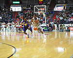 "Ole Miss' Jarvis Summers (32) vs. LSU's Anthony Hickey (1) at the C.M. ""Tad"" Smith Coliseum in Oxford, Miss. on Saturday, February 25, 2012."