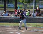 The Mariners vs. the Twins' Grayson Grantham in Oxford Park Commission baseball action at FNC Park in Oxford, Miss. on Thursday, May 3, 2012.