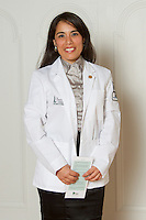 Katia Chavez. White Coat Ceremony, class of 2016.