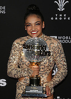 "Los Angeles, CA - NOVEMBER 22: Laurie Hernandez, At ABC's ""Dancing With The Stars"" Season 23 Finale At The Grove, California on November 22, 2016. Credit: Faye Sadou/MediaPunch"