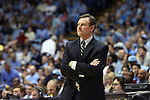 30 December 2014: William & Mary head coach Tony Shaver. The University of North Carolina Tar Heels played the College of William & Mary Tribe in an NCAA Division I Men's basketball game at the Dean E. Smith Center in Chapel Hill, North Carolina. UNC won the game 86-64.