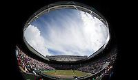 Ambience..Tennis - OLympic Games -Olympic Tennis -  London 2012 -  Wimbledon - AELTC - The All England Club - London - Sunday 5th August  2012. .© AMN Images, 30, Cleveland Street, London, W1T 4JD.Tel - +44 20 7907 6387.mfrey@advantagemedianet.com.www.amnimages.photoshelter.com.www.advantagemedianet.com.www.tennishead.net
