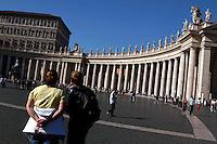 Città del Vaticano.Vatican City.Piazza San Pietro. St. Peter's Square...