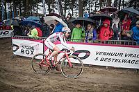 Maud Kaptheijns (NED/Steylaerts-Verona)<br /> leading the women's race<br /> <br /> Krawatencross Lille 2017