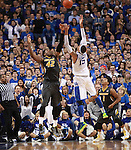 UK forward Willie Cauley-Stein and Missouri forward Alex Oriakhi jump for the ball at UK vs. Missouri at Rupp Arena in Lexington, Ky. on Saturday, February 23, 2013. Photo by Emily Wuetcher | Staff....