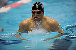 26 MAR 2011: Senior Pavel Buyanov of Staten Island competes in the 200 yard breaststroke during the Division III Menís and Womenís Swimming and Diving Championship held at Allan Jones Aquatic Center in Knoxville, TN. Buyanov finished second with a time of 2:00.31. David Weinhold/NCAA Photos