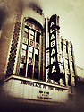The historic Alabama Theatre made with the iPhone 4s, edited with Snapseed