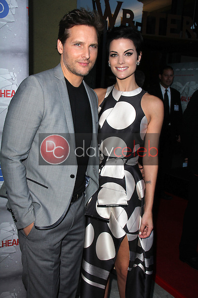 Peter Facinelli, Jaimie Alexander<br /> at the HBO Premiere of &quot;The Normal Heart,&quot; WGA Theater, Beverly Hills, CA 05-19-14<br /> David Edwards/DailyCeleb.com 818-249-4998