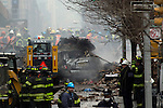 NYC buildings collapse during a gas leak explosion in Harlem