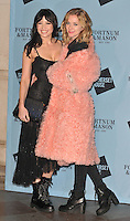 Daisy Lowe and Portia Freeman at the Skate at Somerset House with Fortnum &amp; Mason VIP launch party, Somerset House, The Strand, London, England, UK, on Wednesday 16 November 2016. <br /> CAP/CAN<br /> &copy;CAN/Capital Pictures /MediaPunch ***NORTH AND SOUTH AMERICAS ONLY***