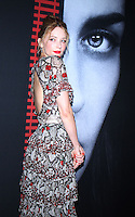 NEW YORK, NY-October 04:Haley Bennett at Universal Pictures presents the America premiere of Dreamworks and Rellance Entertainments The Girl on the Train  at Regal E-Walk Stadium 13 & RPX in New York.October 04, 2016. Credit:RW/MediaPunch