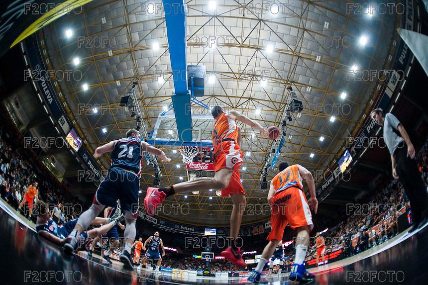 Valencia Basket 76-56 Rio Natura Monbus (31-10-2015)