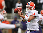 07 October 2006: Clemson's Will Proctor. The Clemson University Tigers defeated the Wake Forest University Demon Deacons 27-17 at Groves Stadium in Winston-Salem, North Carolina in an Atlantic Coast Conference NCAA Division I College Football game.