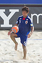 Teruki Tabata (JPN), SEPTEMBER 4, 2011 - Beach Soccer : FIFA Beach Soccer World Cup Ravenna-Italy 2011 Group D match between Ukraine 4-2 Japan at Stadio del Mare, Marina di Ravenna, Italy, (Photo by Enrico Calderoni/AFLO SPORT) [0391]