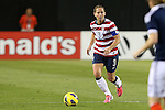 09 February 2012: Christie Rampone (USA). The United States Women's National Team played the Scotland Women's National Team at EverBank Field in Jacksonville, Florida in a women's international friendly soccer match. The U.S. won the game 4-1.