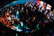 The crowds were thick at Slim's during the Hopscotch Music Festival, Raleigh, N.C., Friday, Sept. 10, 2010.