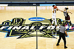 DALLAS, TX - APRIL 2: Dominique Dillingham #00 of the Mississippi State Lady Bulldogs reaches in to steal the ball from Tyasha Harris #52 of the South Carolina Gamecocks during the 2017 Women's Final Four at American Airlines Center on April 2, 2017 in Dallas, Texas. (Photo by Timothy Nwachukwu/NCAA Photos via Getty Images)