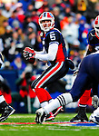28 December 2008: Buffalo Bills' quarterback Trent Edwards takes a snap against the New England Patriots at Ralph Wilson Stadium in Orchard Park, NY. The Patriots kept their playoff hopes alive defeating the Bills 13-0 in their 16th win against Buffalo of their past 17 meetings. ***** Editorial Use Only ******..Mandatory Photo Credit: Ed Wolfstein Photo