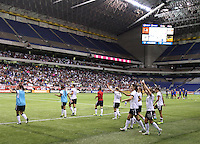 SAN ANTONIO, TX- OCTOBER 20, 2013: The U.S. Women's National Team defeated the Australia Women's National Team 4 - 0 in an International Friendly at Alamodome.