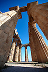 Greek Dorik Temple ruins of Temple F at Selinunte, Sicily photography, pictures, photos, images & fotos. 31