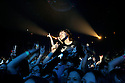 SCOTT MORGAN | ROCKFORD REGISTER STAR.Fans listen as Breaking Benjamin performs Tuesday, Feb. 19, 2008 during their concert with Three Days Grace, Seether and Hurt at the MetroCentre in Rockford.