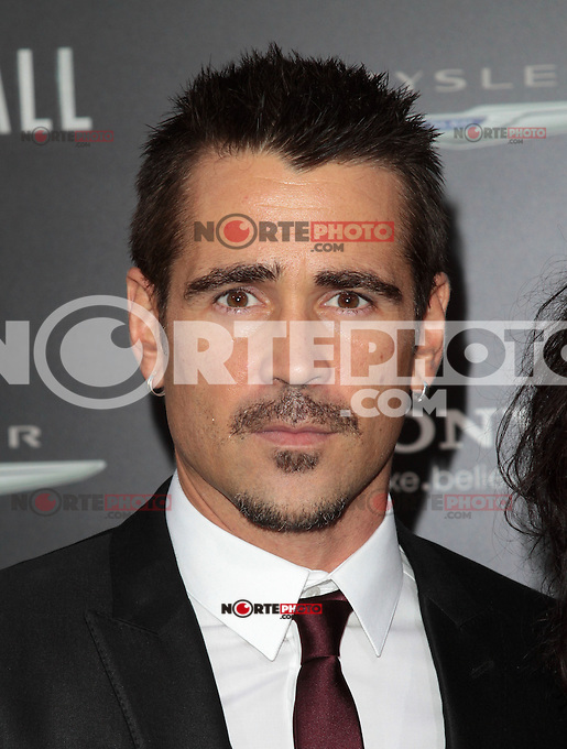 HOLLYWOOD, CA - AUGUST 01: Colin Farrell at the premiere of Columbia Pictures' 'Total Recall' held at Grauman's Chinese Theatre on August 1, 2012 in Hollywood, California Credit: mpi21/MediaPunch Inc. /NortePhoto.com<br />