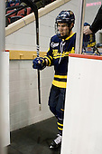 Kyle Bigos (Merrimack - 3) - The visiting Merrimack College Warriors tied the Boston University Terriers 1-1 on Friday, November 12, 2010, at Agganis Arena in Boston, Massachusetts.