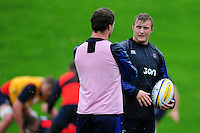 Jack Walker of Bath Rugby looks on. Bath Rugby training session on November 22, 2016 at Farleigh House in Bath, England. Photo by: Patrick Khachfe / Onside Images