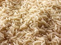Brown Basmati Rice grains - stock food