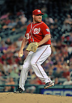 9 July 2011: Washington Nationals pitcher Todd Coffey on the mound against the Colorado Rockies at Nationals Park in Washington, District of Columbia. The Nationals were edged out by the Rockies 2-1, dropping the second game of their 3-game series. Mandatory Credit: Ed Wolfstein Photo