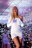 Noémie Happart, Miss Belgique 2013 défile en lingerie - Belgique