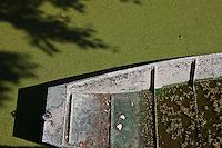 Europe/France/Poitou-Charentes/79/Deux-Sèvres/Marais Poitevin: Saint-Georges-de-Rex: Le Port Le site de Marais de Saint Georges de Rex - Amuré appartient au  Marais mouillé  bocager  du Marais Poitevin