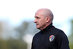 CARY, NC - APRIL 08: Courage head coach Paul Riley (ENG). The NWSL's North Carolina Courage played a preseason game against the University of North Carolina Tar Heels on April 8, 2017, at WakeMed Soccer Park Field 3 in Cary, NC. The Courage won the match 1-0.