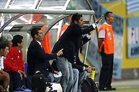 MEXICO ALEMANIA 2006.MEXSPORT DIGITAL IMAGE.24 June 2006:  Action photo of Jorge Campos of Mexico during 2006 World Cup game of the Round 2 held at Leipzig./ Foto de accion de Jorge Campos de Mexico durante juego de la ronda dos de la Copa del Mundo 2006 celebrado en Leipzig. MEXSPORT/DAVID LEAH