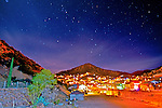 Bisbee Arizona at night