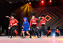 Elite Squad Royalz (Britain's Got Talent 2016 semi-finalists) perform on the main stage, at the dance trade show, Move It, at ExCel, London, Britain.