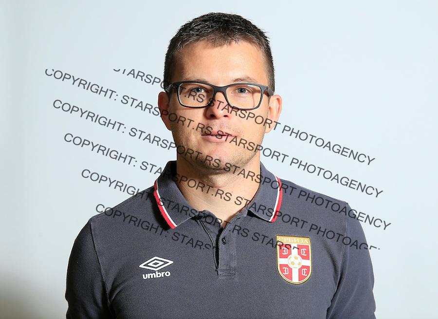 Futsal<br /> Portreti igraca Futsal nacionalne selekcije Srbije <br /> Miroslav Nikolic<br /> Stara Pazova, 26.11.2015.<br /> foto: Srdjan Stevanovic/Starsportphoto &copy;