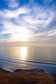 Stock photo of Sunset La Jolla California