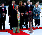 Lola C. West accepts Star Leadership Award at The 2011 Figure Skating in Harlem - Skating with the Stars Honoring Tina and Terry Lundgren, Sarah Hughes and Lola C. West at the Wollman Rink, NY 4/4/11