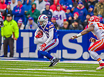 9 November 2014: Buffalo Bills wide receiver Robert Woods in action against the Kansas City Chiefs at Ralph Wilson Stadium in Orchard Park, NY. The Chiefs rallied with two fourth quarter touchdowns to defeat the Bills 17-13. Mandatory Credit: Ed Wolfstein Photo *** RAW (NEF) Image File Available ***